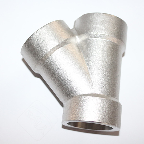 ss316 stainless steel 45 degree pipe lateral tee dimension