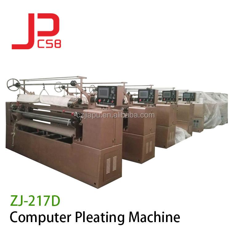 Computerized Fabric Pleating Machine