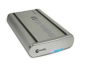 Macally PHR-100ACB FireWire800/USB 2.0 3.5-Inch ATA Hard Drive Enclosure
