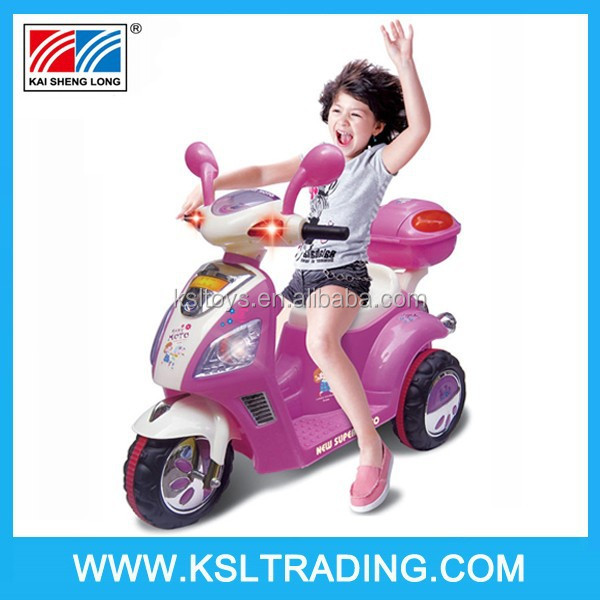 Battery Operated Toy Ride On Baby Motor Car