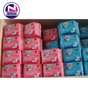 Carefree cheap lady anion disposable belted sanitary napkin