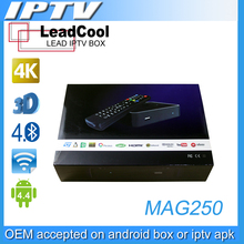 2pcs Best Linux IPTV Box Mag 250 Iptv Set Top Box Media Player Support Wifi Usb Connector / Cable Without IPTV Account Mag250