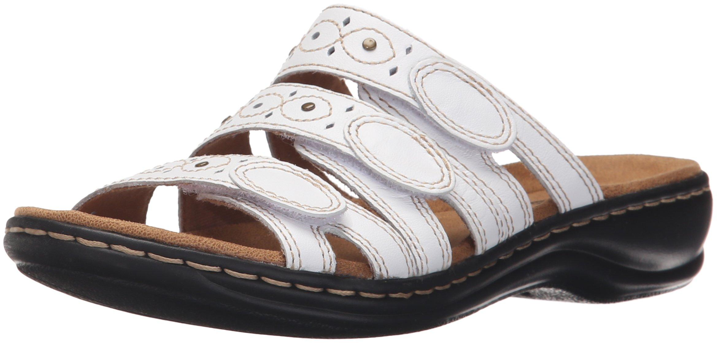 060ecefe25de Get Quotations · CLARKS Women s Leisa Cacti Slide Sandal