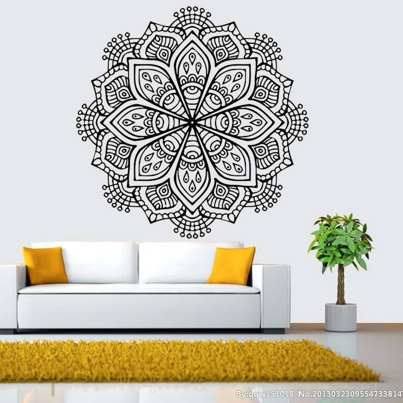Wall Decals Wall Decals Suppliers And Manufacturers At Alibabacom - Wall decals in pakistanblack flowers removable wall stickers wall decals mural home art