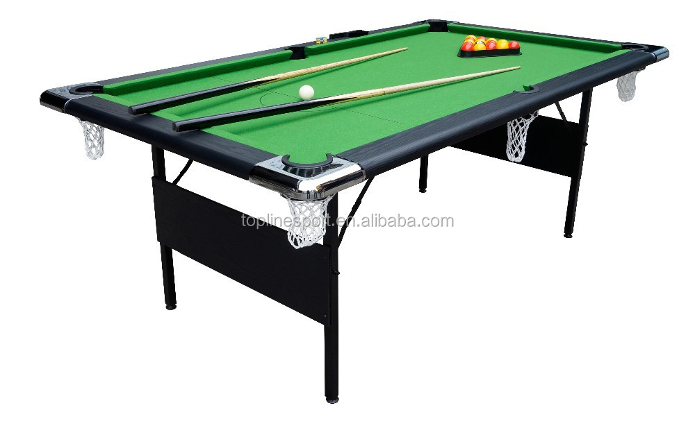 7ft Foldable Metal Leg Snooker Pool Table Tp 28407