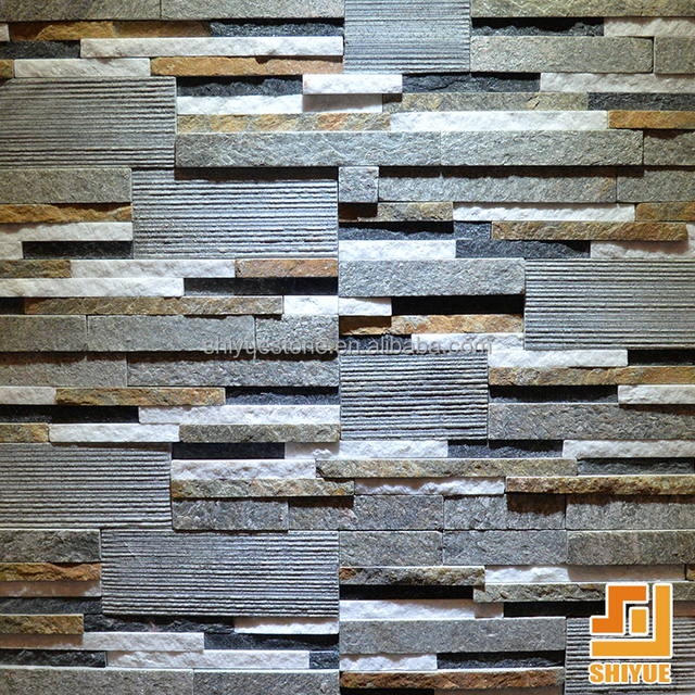 Various Color Natural Culture Stone For Interior Walls Finish