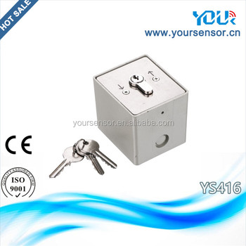 Key Switch For Roller Shutter And Garage Door System Ys416 Buy