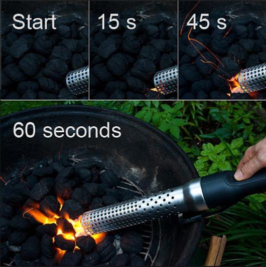 Segurança elétrica fogo igniter para churrasco mais leve para CHURRASCO Kamado como grill acessórios