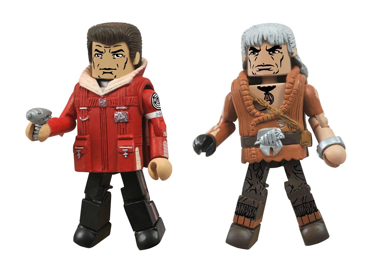Diamond Select Toys Star Trek Legacy Minimates Series 1 Star Trek II Admiral Kirk and Khan Action Figure