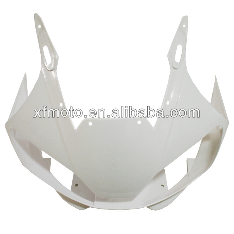 For YAMAHA YZF R6 YZF-R6 1998 2002 99 01 Wholesale ABS Unpainted Upper Front Fairing