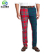Latest design full sublimation golf trousers quick dry tartan pants