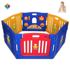 2017 Newest Baby Playpen, EN71 certificate baby play pen Baby Safety Activity Play Fence