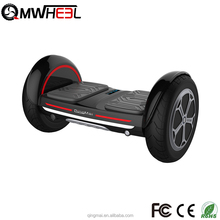 2017 Newest Bluetooth smart 10inch tubeless wheel high speed electric unibody hoverboard