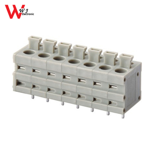 5.0mm pitch spring PCB good terminal block with high quality test passeed WJ211V-5.0