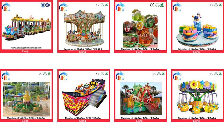 Giochi di divertimento all'aperto giostre carosello merry go round 6 sedili corona outdoor carosello giostre mini giostra per i bambini in vendita