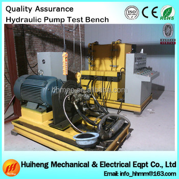 Hydraulic pump test bench hydraulic test bench for sale for Hydraulic pumps and motors for sale