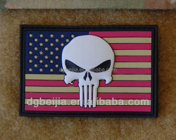 Pvc Patches For Military,United States Flag Plastic Patch With ...
