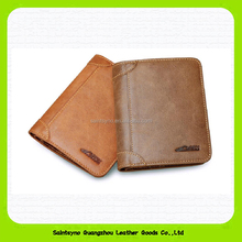 15731 Factory custom rfid protection mens leather wallets
