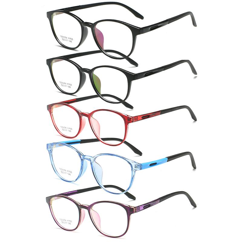 5974b06e412 Rétro Ultraléger TR90 Optique Monture de lunettes Ordinateur Anti Lumière  Bleue Rayon Bloquant Lunettes Lunettes De