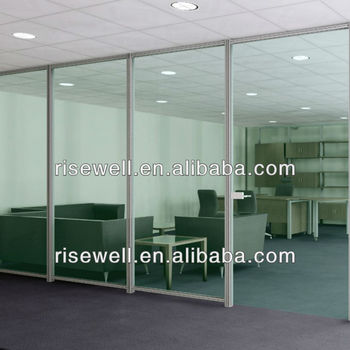 office glass sound proof partitions