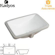 Under Counter Mounting Porcelain Basin / Solid Surface Wash KD-11CB24''