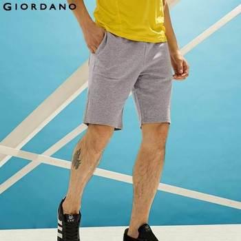 434e85b9e14 Джордано мужчины бренд летом 100% хлопок шорты для мужчин мужские  свободного покроя шорты мода мужской