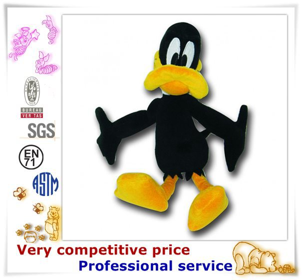 OEM duck Animal plush toys , professional daffy duck plush toy