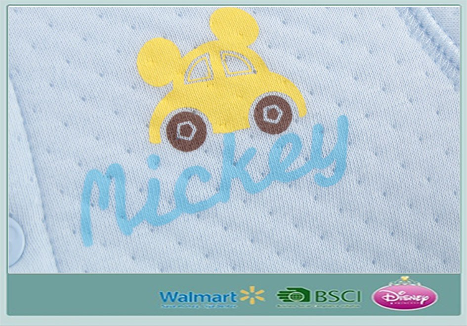 Disnei New Design Baby Clothes Wintersoft Cotton Baby