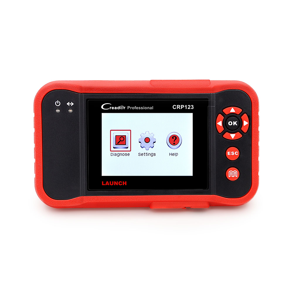 Original Launch CRP123 Update Online LAUNCH X431 Creader CRP 123 ABS, SRS, Transmission and Engine Code Scanner