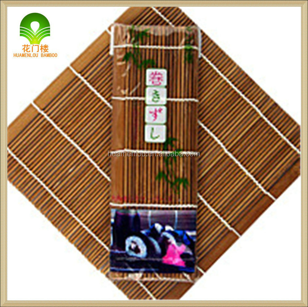 high quality green Bamboo sushi roll tool