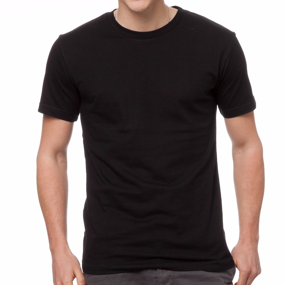 Guangzhou manufacturer stock white black blank t shirt for Where to order blank t shirts