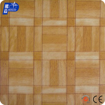 Low Price High Quality Strength Tearing Plastic Wood Grain Floor Carpet