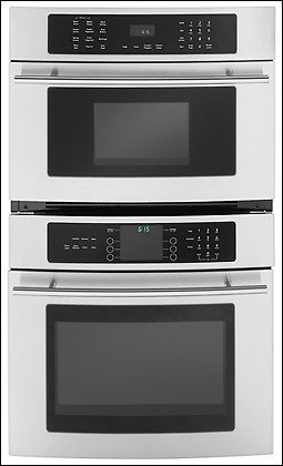 """27"""" JMW9527DAS Stainless Steel Combination Microwave/Wall Oven -"""