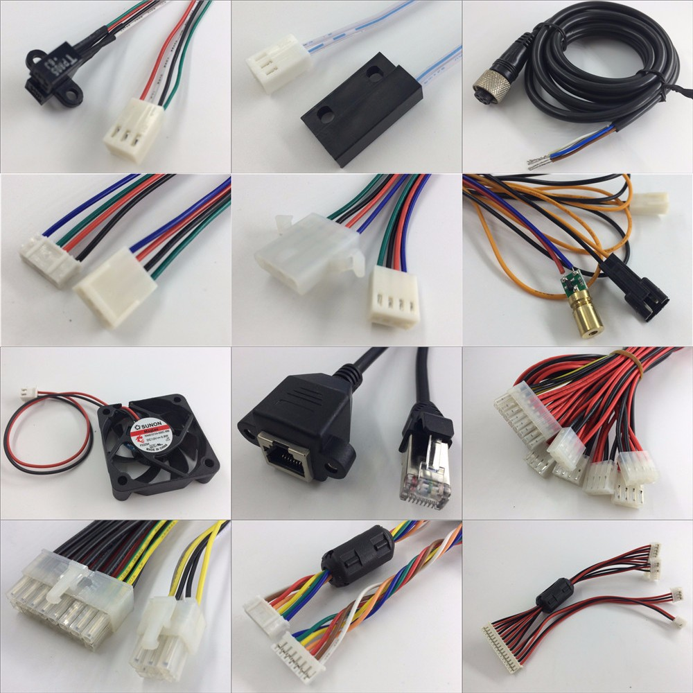 Professional Cable Assemblies Wiring Harness Custom For Electrical ...