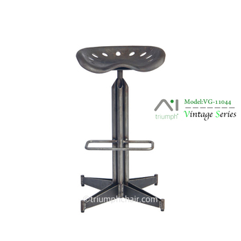 Triumph Metal Bottom Shape Bar Stool Vintage High Child Retro Barstool