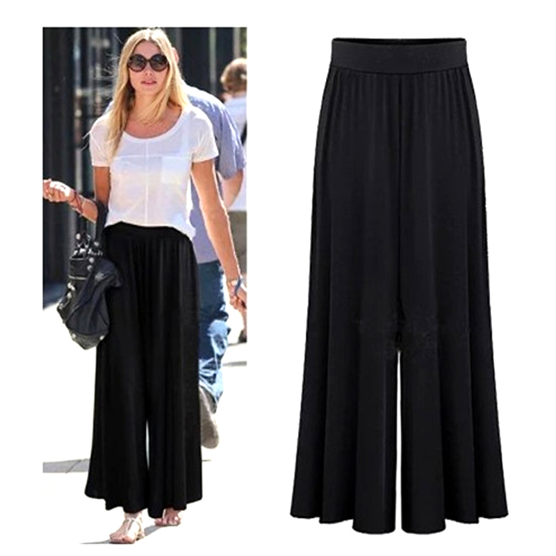 New style ladies casual loose wide leg pants loose pants for women