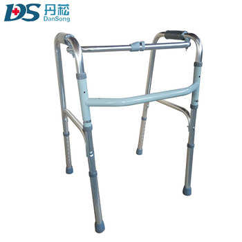 Foldable Adult Aluminium Alloy Walking Aid For Old People - Buy ...