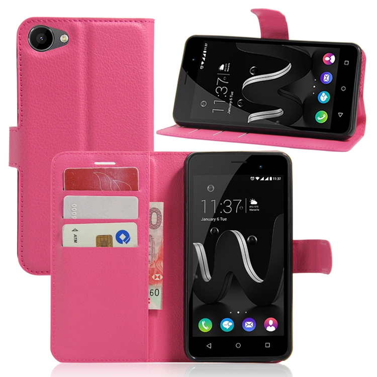 Hot Product PU Leather Case Flip Cover with Stand Function For Wiko Jerry 5.0inch Case