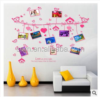 Heißer Verkauf Eule Eichhörnchen Vogel Baum Wandtattoo Abnehmbaren Aufkleber  Für Kinder Kinder Baby Kinderzimmer Dekoration