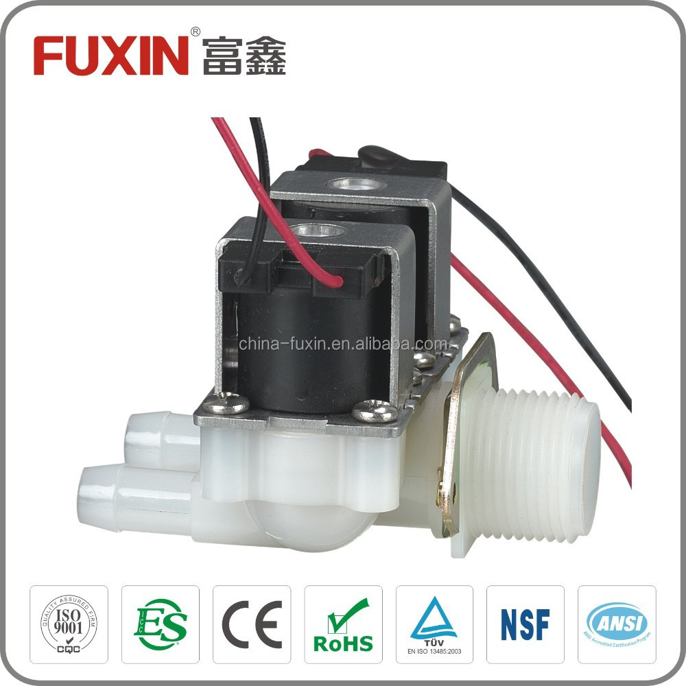 sensor multi-way solenoid valve infrared sanitary shower faucet magnetic valves electric water valve