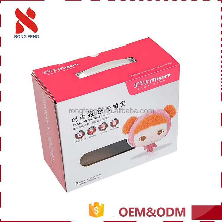 Custom made easy to disassemble environmental-friendly creative cute paper box packaging