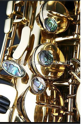 Professional Eb alto saxophone Like Selmer reference 54 type, Germany imported copper, unlacquered
