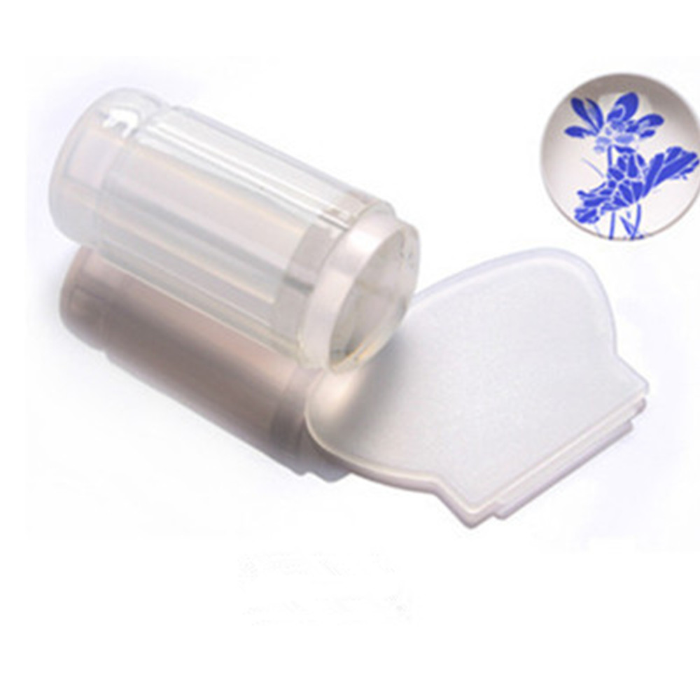 New Milky Clear Jelly Stamper 2.8cm Transparent Nail