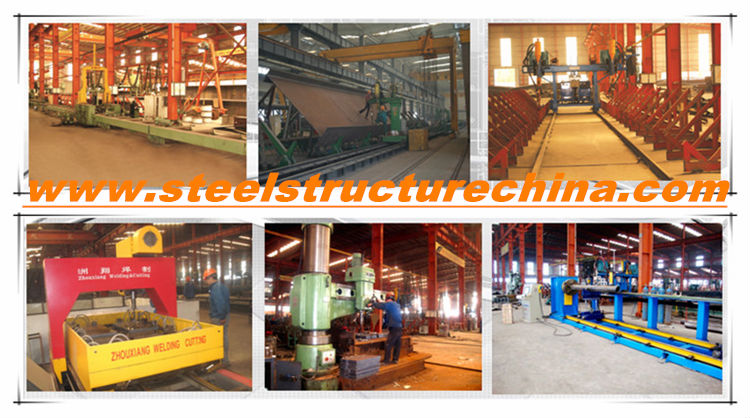 Welding textile steel structure storage shed/warehouse project
