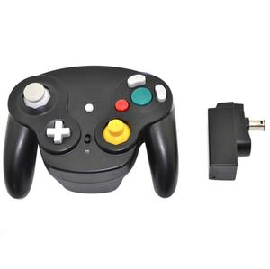 Classic 2.4G Wireless Gamecube Controller NGC Joystick with Receiver Adapter for Nintendo GC / Wii Gamepad