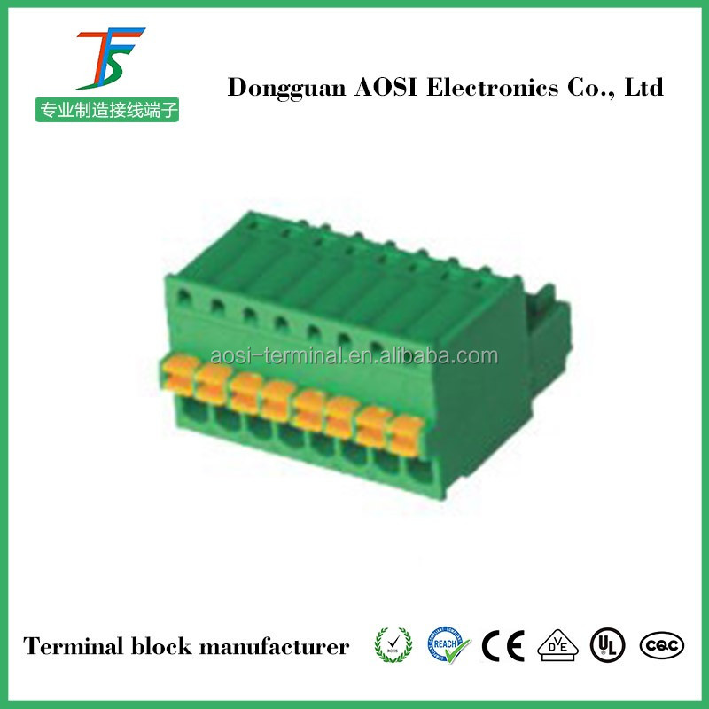 Led Fast Connector Press 2pin Terminal Block Connector
