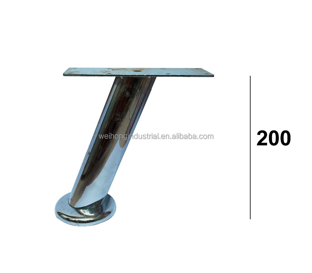 Superb Chrome Iron Sofa Legs Angled Metal Furniture Legs   Buy Plating Sofa Leg 4  Product On Alibaba.com