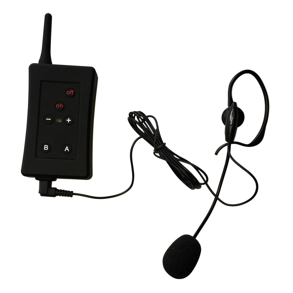 Hot FBIM wireless soccer communication kit headset intercoms waterproof football referee intercom system