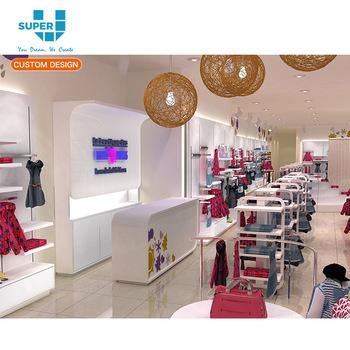 6348f199f Los Bebés Ropa vestido muestra sistema manta montado en la pared de la  Tienda de bebé