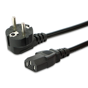 HF 2-prong pin EU AC Power Cord Cable to Cloverleaf Plug for PC inserts electric socket ac plug inserts